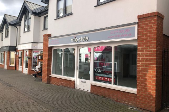 Thumbnail Retail premises to let in Riverside Walk, Bishop's Stortford