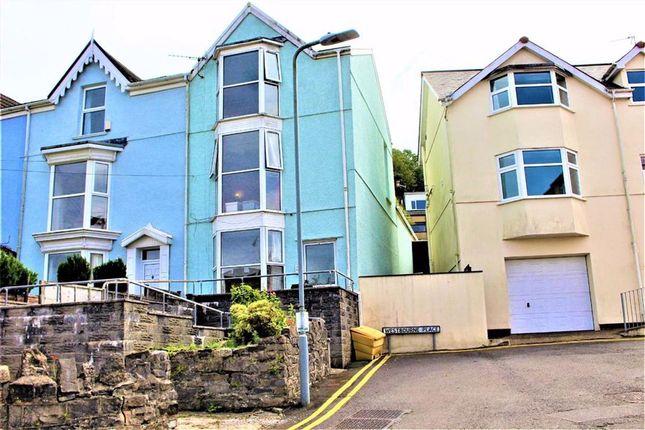Thumbnail Terraced house for sale in Church Park, Mumbles, Swansea