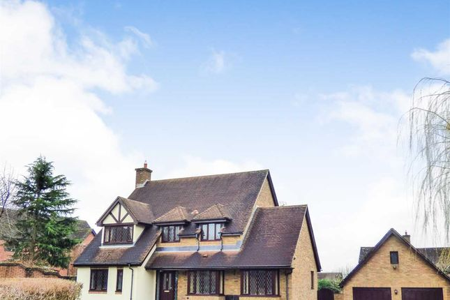 Thumbnail Detached house for sale in Badgers Meadow, Pwllmeyric, Chepstow