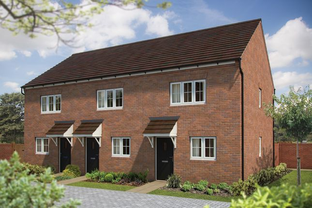"""Thumbnail Terraced house for sale in """"The Hawthorn"""" at St. James Way, Biddenham, Bedford"""