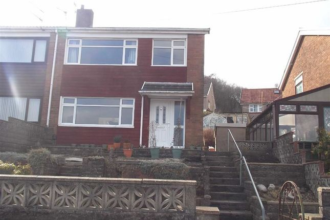 Thumbnail Semi-detached house for sale in Coed Isaf Road, Maesycoed, Pontypridd