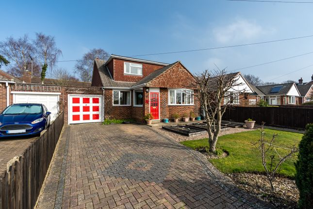 Thumbnail Detached bungalow for sale in Crescent Road, Locks Heath