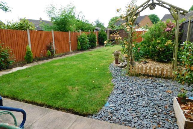 Garden of 8 Morton Road, Moss Pitt, Stafford. ST17
