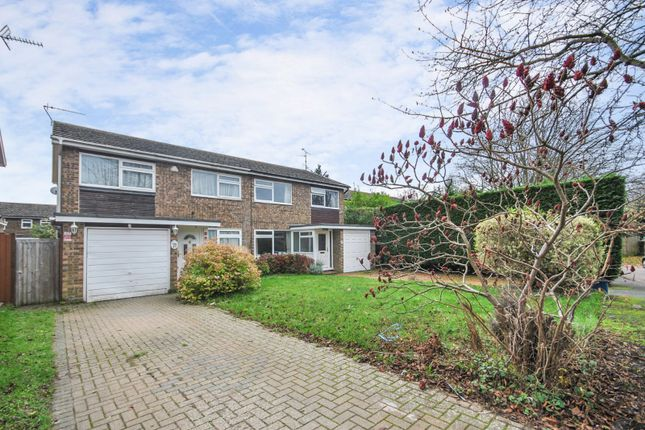 Thumbnail Semi-detached house for sale in Wychford Drive, Sawbridgeworth, Hertfordshire