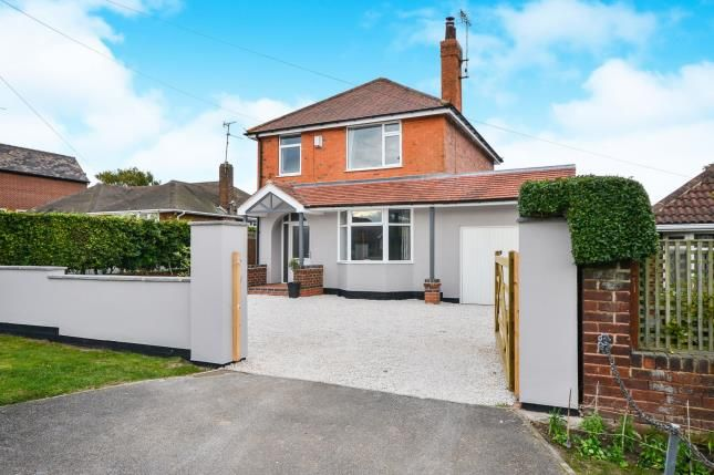Thumbnail Detached house for sale in Station Road, Clipstone Village, Mansfield, Nottinghamshire