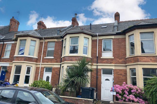 Thumbnail Maisonette for sale in Flat 2, 25 Victoria Road, Exmouth, Devon