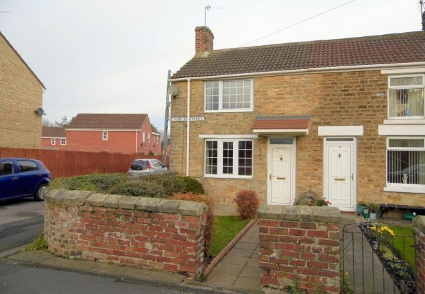 Thumbnail End terrace house for sale in Jubilee Street, Toronto, Bishop Auckland