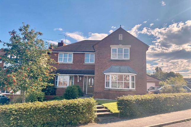 4 bed detached house for sale in Parc Issa, Bryn Y Baal, Flinshire CH7