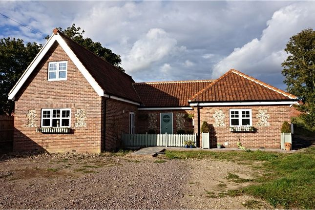 Thumbnail Detached bungalow for sale in Ipswich Road, Nedging Tye