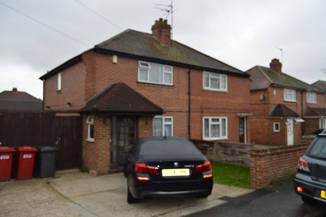 Thumbnail Semi-detached house to rent in Kent Avenue, Slough, Berkshire.
