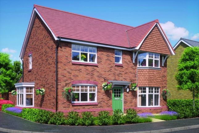 Thumbnail Detached house for sale in Barrowcroft Green, Standish, Wigan