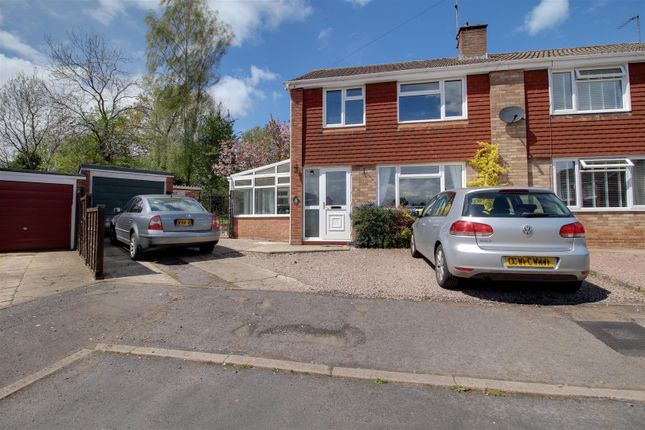 3 bed semi-detached house for sale in Knights Crescent, Newent GL18