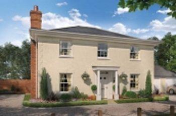 Thumbnail Detached house for sale in Oakley Park, Mulbarton, Norfolk