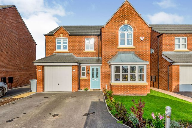 Thumbnail Detached house for sale in Stanthorne Place, Middlewich, Cheshire