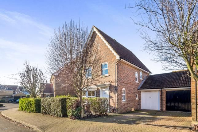 Thumbnail Detached house for sale in Sandling Way, St. Marys Island, Chatham, Kent