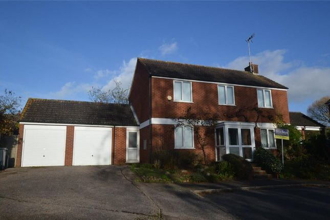 Thumbnail Detached house for sale in Beeches Close, Woodbury, Exeter, Devon