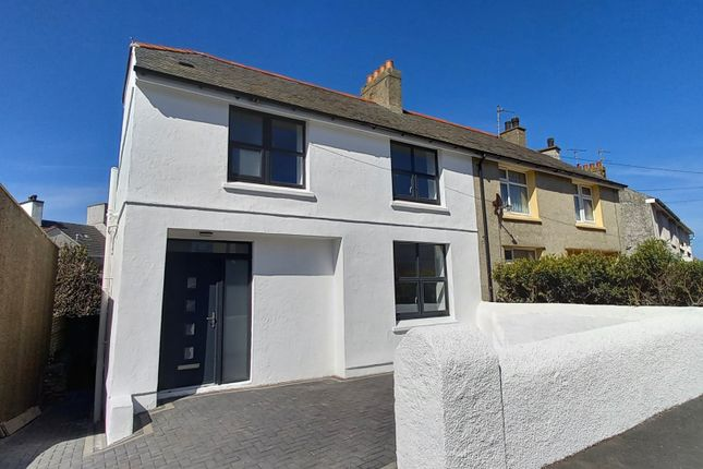 Thumbnail Semi-detached house for sale in Gwelfor Avenue, Holyhead, Anglesey