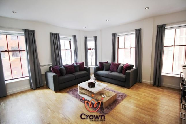 Thumbnail Flat to rent in Crown Residence, 81-89 Great George Street, Leeds