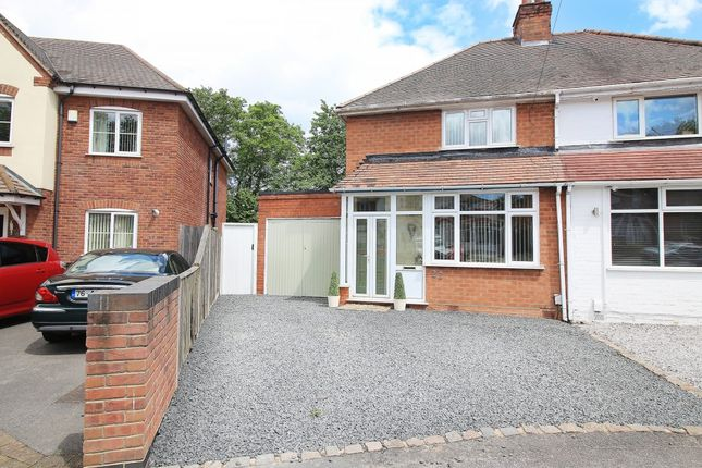 Thumbnail Semi-detached house for sale in Ringswood Road, Solihull