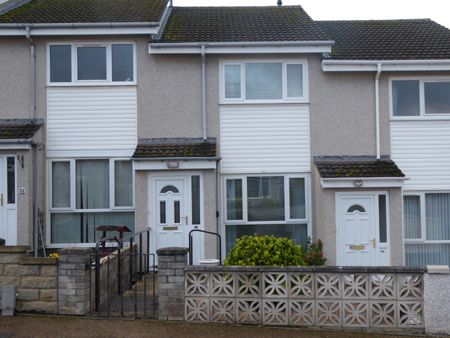 Thumbnail Terraced house for sale in Bailies Drive, Elgin