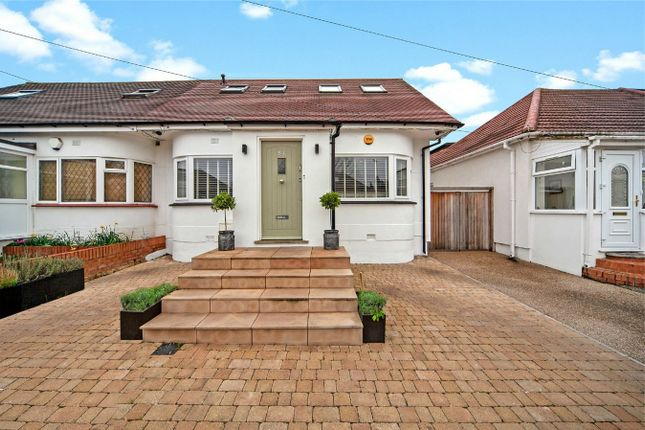 Thumbnail Semi-detached bungalow for sale in Kinloch Drive, Kingsbury, London