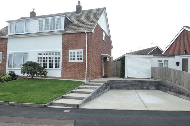 Thumbnail Semi-detached house for sale in Viking Way, Holland-On-Sea, Clacton-On-Sea