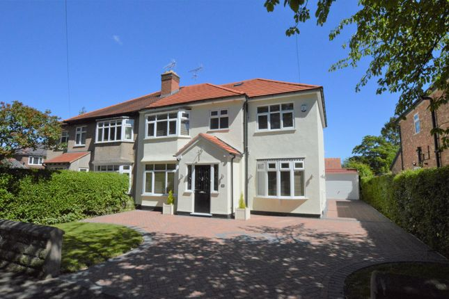 Thumbnail Semi-detached house for sale in Flag Lane North, Upton, Chester
