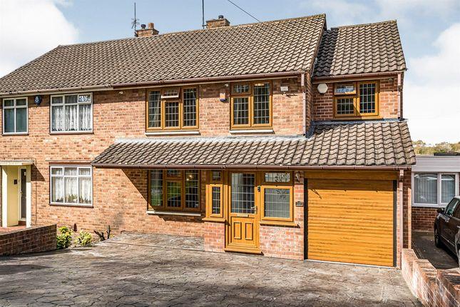 Thumbnail Semi-detached house for sale in Old Barn Road, Wordsley, Stourbridge