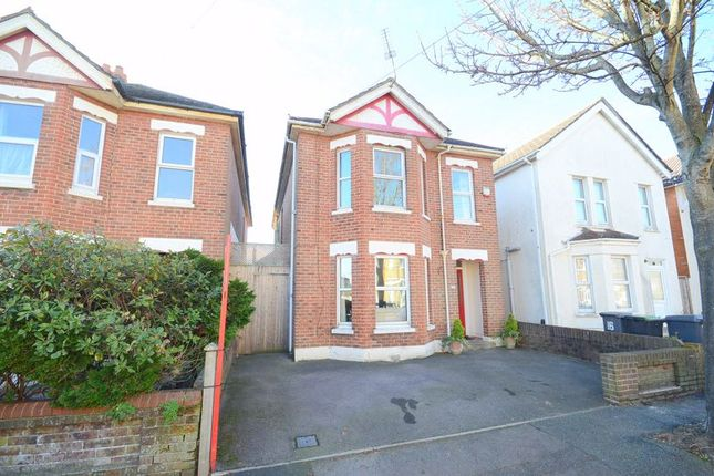 Thumbnail Detached house for sale in Harrison Avenue, Boscombe, Bournemouth