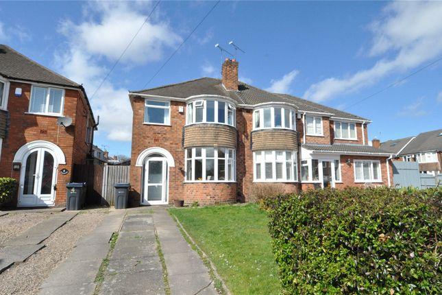 Thumbnail Semi-detached house for sale in Windrush Grove, Selly Oak, Birmingham