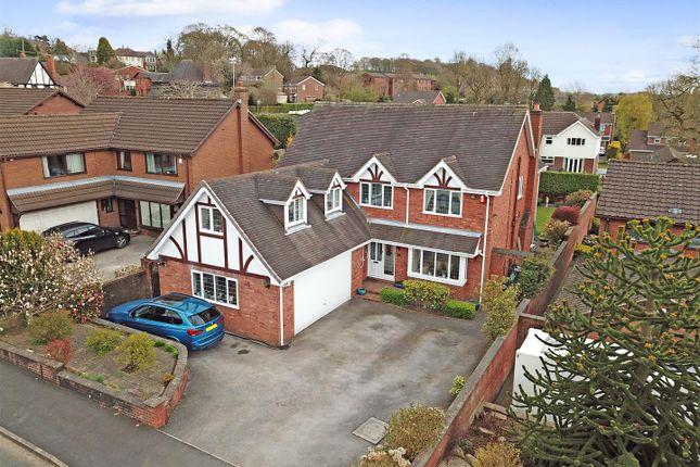 Thumbnail Detached house for sale in Castel Close, Seabridge, Newcastle