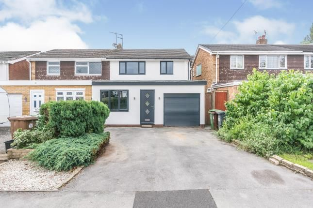 Thumbnail Semi-detached house for sale in Langley Hall Road, Solihull, West Midlands