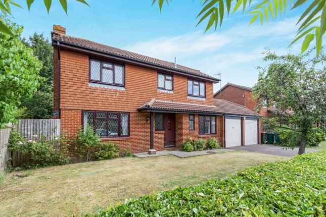 Thumbnail Detached house for sale in Crowhurst Close, Worth, Crawley