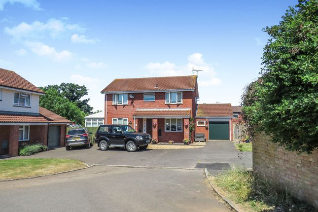 Thumbnail Detached house for sale in Sundew Close, Taunton