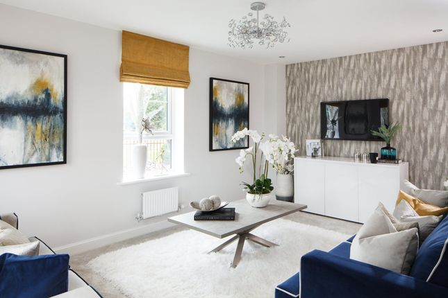 """Thumbnail Detached house for sale in """"Hexham"""" at Rykneld Road, Littleover, Derby"""