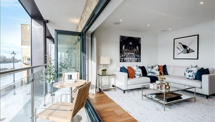 Thumbnail Property to rent in Oxbridge Terrace, Palace Wharf, Rainville Road, London