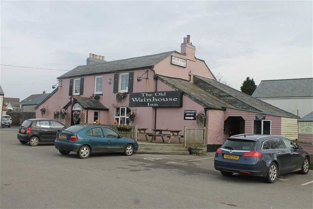 Thumbnail Pub/bar for sale in Old Wainhouse Inn, St Gennys, Bude, Cornwall