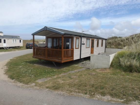 Front of Perran Sands Holiday Park, Perranporth, Cornwall TR6