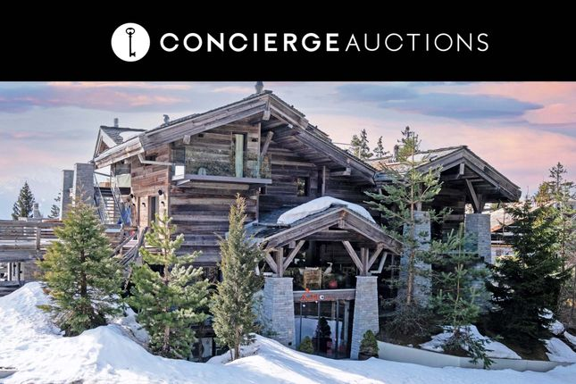Thumbnail Chalet for sale in Chalet Seven, Crans Montana, Valais, Switzerland