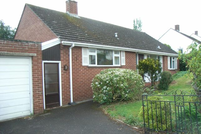Thumbnail Detached bungalow to rent in Broadparks Avenue, Pinhoe, Exeter