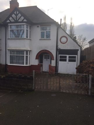 Thumbnail Detached house to rent in Shepherds Green Road, Erdington
