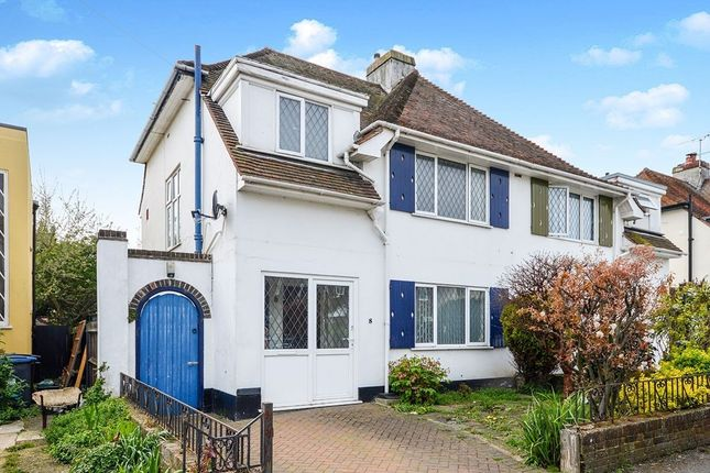 Thumbnail Semi-detached house for sale in Leas Road, Deal