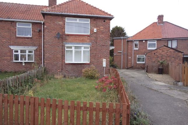 Thumbnail Semi-detached house to rent in Burns Street, Wheatley Hill, Durham