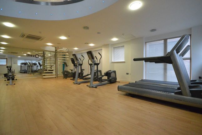 Communal Gym of Ratcliffe Court, Barleyfields, Bristol BS2