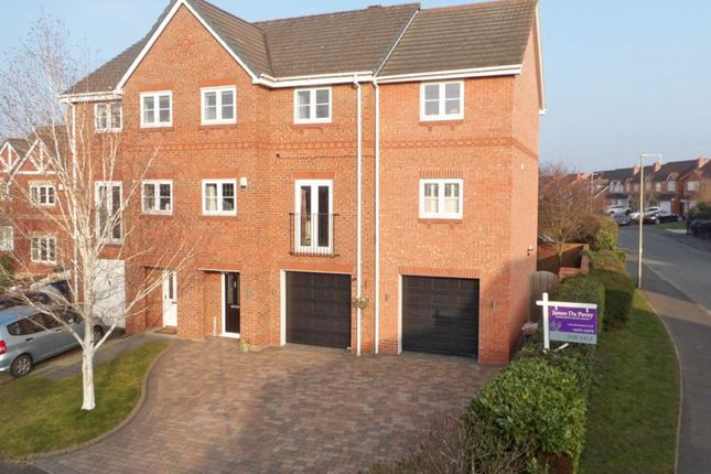 Thumbnail Semi-detached house for sale in Mottram Drive, Nantwich, Cheshire