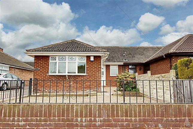 Thumbnail Semi-detached bungalow to rent in Highfield Avenue, Mansfield, Nottinghamshire