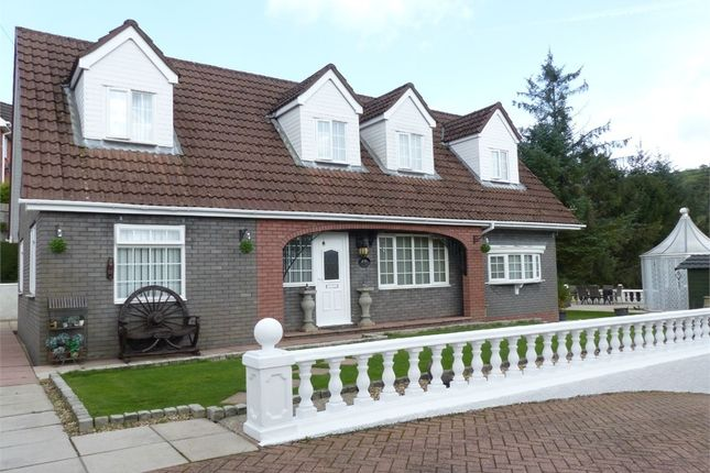 Thumbnail Detached house for sale in Blackmill Road, Lewistown, Bridgend, Mid Glamorgan