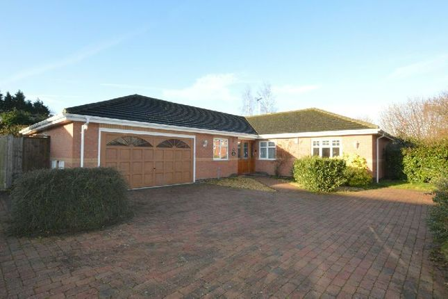 Thumbnail Detached bungalow for sale in Newby Close, Whetstone, Leicester