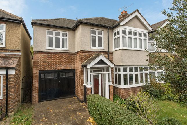 Thumbnail Semi-detached house for sale in Stratton Road, Merton Park, London