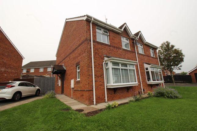 Thumbnail Semi-detached house for sale in Glenwood Court, Lisburn